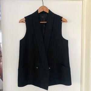 Double Breasted Women's BCBG Vest sz S